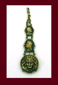 Native American Watch Fob