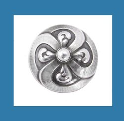 Georg Jensen Sterling Silver Pin Front