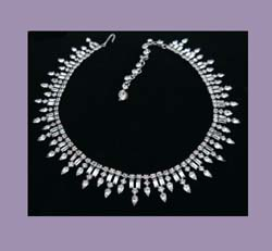 Spectacular Kramer Rhinestone Necklace