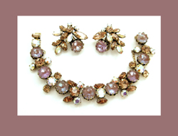 Regency Saphiret Bracelet and Earrings