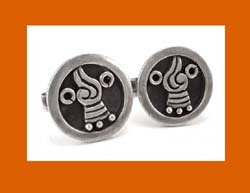 Francisco Rivera Sterling Cufflinks