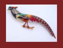 Amherst Pheasant Pin